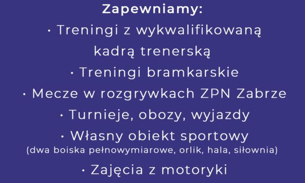 MOSiR SPARTA ZABRZE ZAPRASZA DZIECI – ROCZNIK 2007