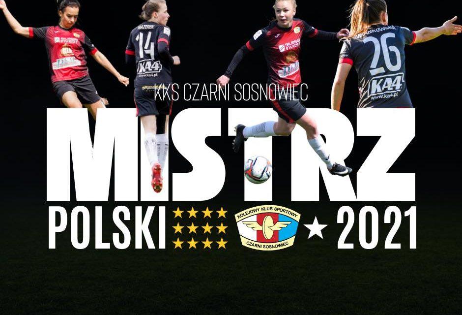 KKS CZARNI SOSNOWIEC MISTRZEM POLSKI !!!