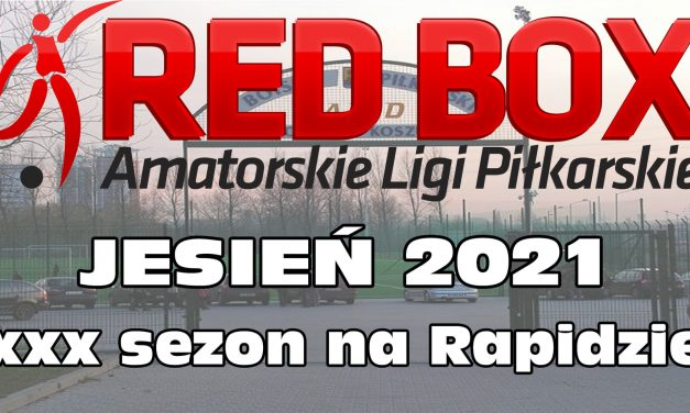 LIGA RED BOX – JESIEŃ 2021 – ZAPISZ DRUŻYNĘ!